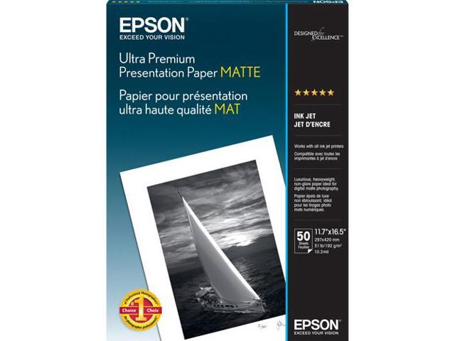 Epson S041343M White Photographic Papers 11.70