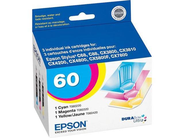 Epson T060520M Multi-Pack Ink Cartridges For Epson Stylus CX Series Printers