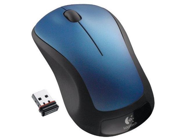 Logitech CT7484B/ 910-001917 Wireless Mouse M310 - Laser - Radio Frequency - Blue - USB - Scroll Wheel