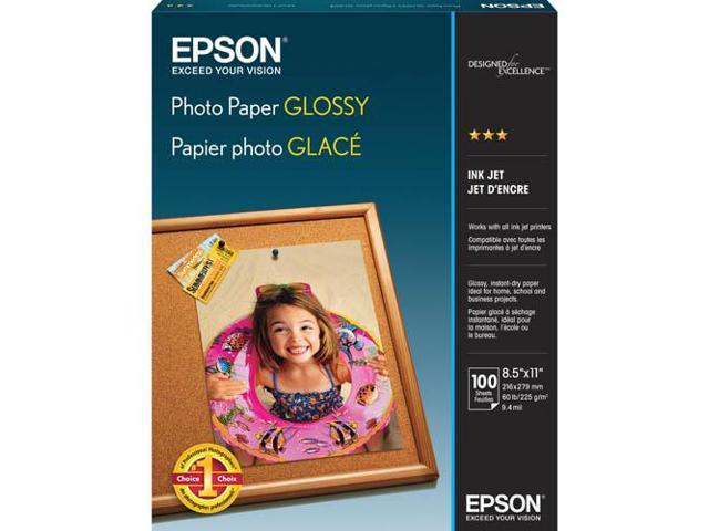 Epson S041271M White Soft Gloss Photographic Papers 8.50