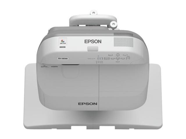 Epson V11H605020M PowerLite 570 XGA LCD Projector W/ 3x Brighter Colors