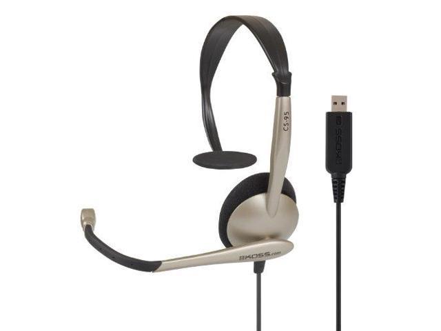 Koss CS95USBM Koss Communications USB Headset with Microphone (CS95-USB)