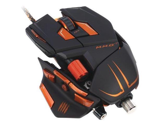 Mad Catz MAD43712M M.M.O. 7 Gaming Mouse for PC and Mac - Black