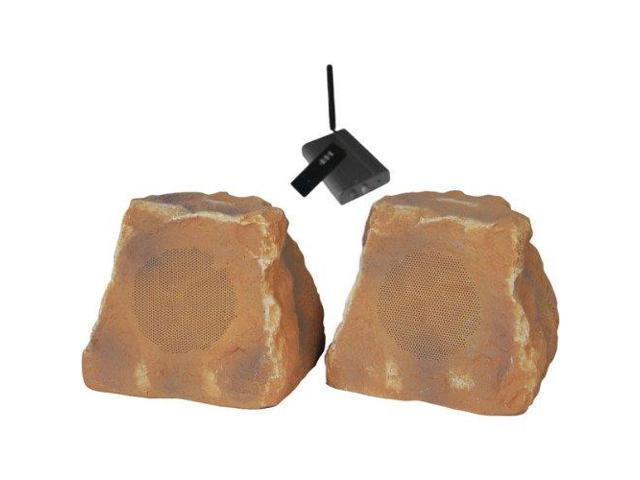 TIC Corporation Q94035G TIC CORPORATION WRS010-CN Outdoor Wireless Rock Speakers (Canyon)