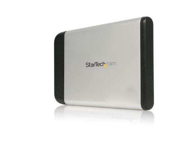 StarTech M59512M 2.5in Silver USB 2.0 External Hard Drive Enclosure for SATA HDD
