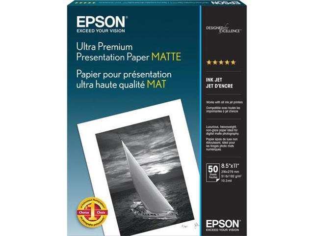 Epson S041341M White Matte Photographic Papers 8.50