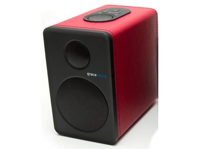 Grace Digital Audio GDI-BTSP207M Grace Digital Bluetooth Speaker in Red