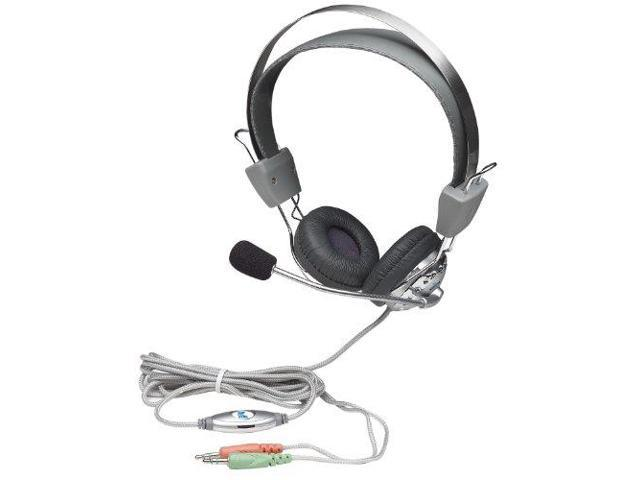 Manhattan Products ICI175517M Stereo Headset with In-Line Volume Control
