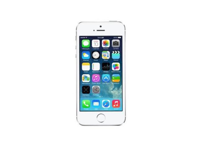 Apple iPhone 5S / Silver Unlocked GSM Mobile Phone