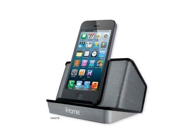iHome IHM27BCB Portable Rechargeable Speaker Black