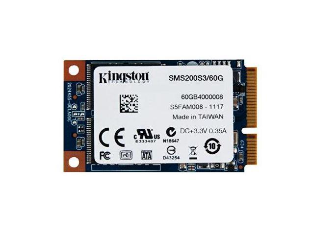 Kingston SMS200S360GM Digital 60GB SSDNow mS200 mSATA (6Gbps) Solid State Drive