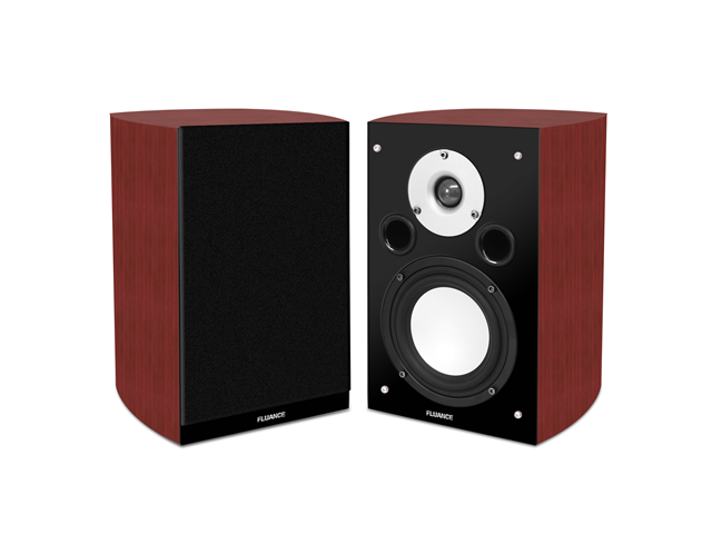 Fluance XL7S High Performance Two-way Bookshelf Surround Sound Speakers for Home Theater and Music Systems
