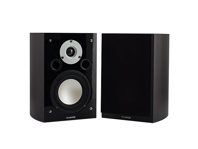 Fluance XL7S High Performance Two-way Surround Sound Speakers for Home Theater and Music Systems (Dark Walnut)