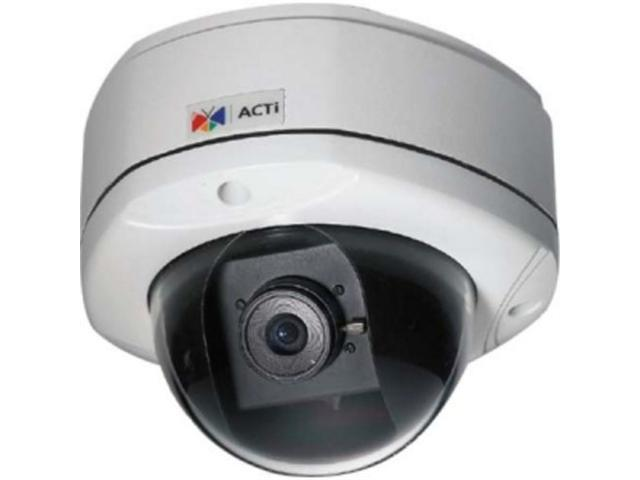 ACTi KCM-7111 RJ45 4M Outdoor Dome Camera with D/N, SLLS, Fixed Lens