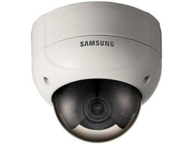 Samsung SCV-2080R High-Resolution CCD Sensor Varifocal Lens Day&Night Vandal-Resistant Dome Camera