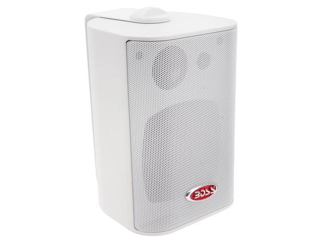 Boss 3-Way Indoor/Outdoor Speaker White MR43W