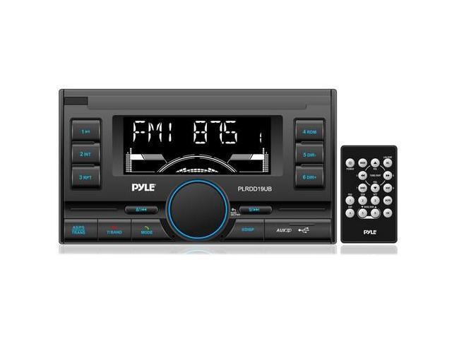 Pyle PLRDD19UB Bluetooth Digital Receiver with USB/SD Card Readers, AM/FM Radio, AUX Input, Remote Control