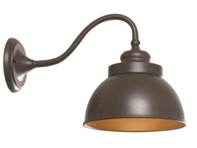 World Imports 9121L-89 Dark Sky Magazine Street Clct Single Lgt Exterior Long Wall Sconce, Bronze