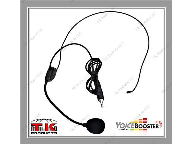 VoiceBooster Headset Microphone for VoiceBooster & Aker Voice Amplifiers
