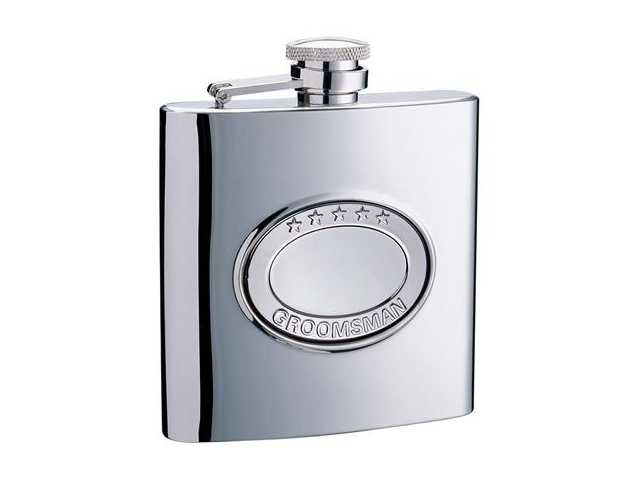 5 Stars Groomsman 6oz Flask