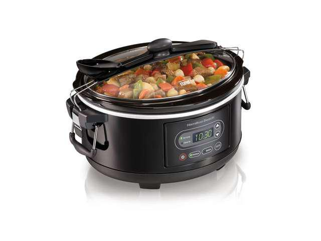 5 Qt. Programmable Stay or Go Slow Cooker