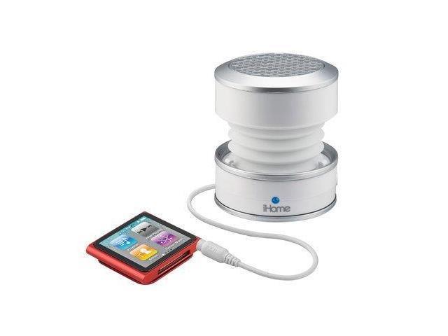 iHome IHM59W Rechargeable Mini Speaker Glow