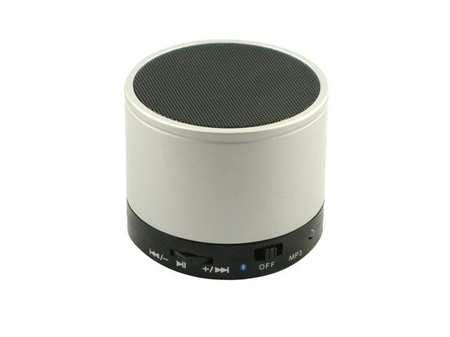 G-Zed Mobile GZBTSPEAKERSL BT Capsule Speaker Silver