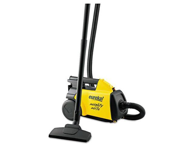 Lightweight Mighty Mite Canister Vacuum, 9A Motor, 8.2 lb, Yellow