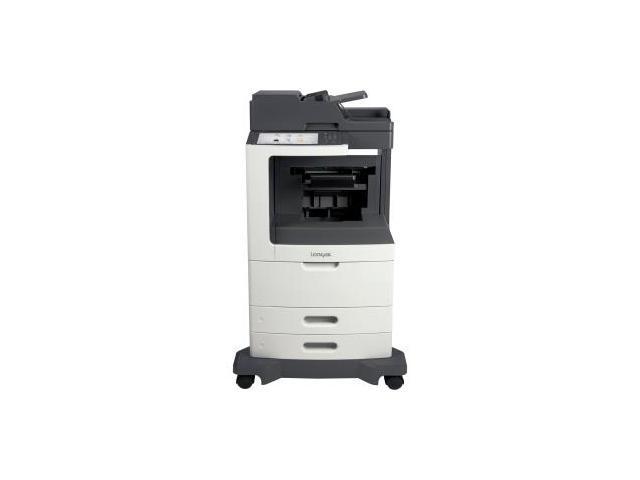 Lexmark MX810DFE Laser Multifunction Printer - Monochrome - Plain Paper Print
