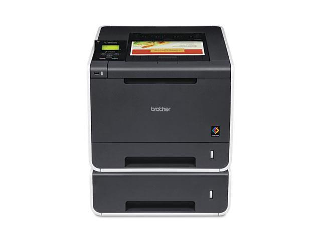 Hl-4570Cdwt Wireless Laser Printer With Duplex Printing, Dual Paper Trays