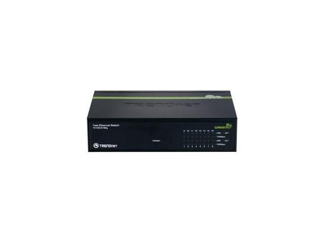TRENDnet TE100-S16Eg Unmanaged Fast Ethernet Switch