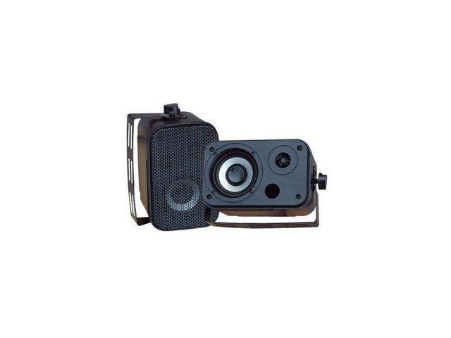 Pyle Pdwr30b 3.5 Indoor/outdoor Waterproof Speakers (black)