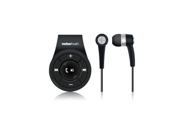 NoiseHush NS560 Clip-On Bluetooth Stereo Headset -Black- NS560-11977
