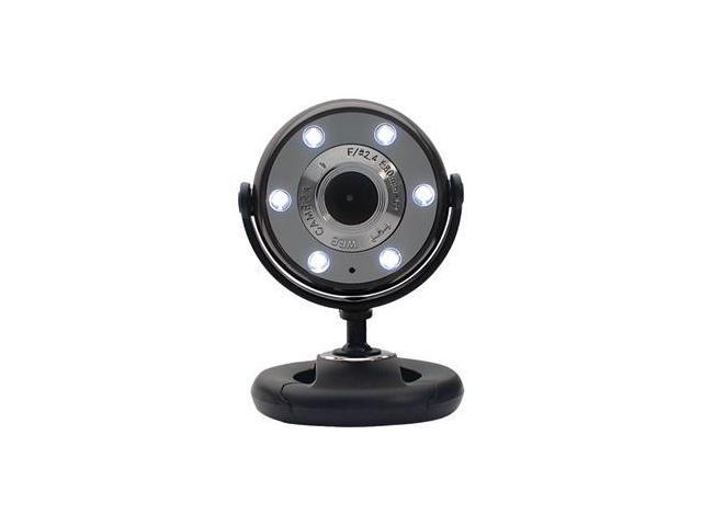 Gear Head WC1300BLK Webcam - 1.3 Megapixel - Black - USB 2.0