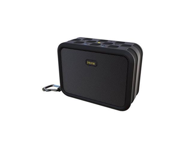 iHome IBN6B Waterproof BT Stereo Speaker Black