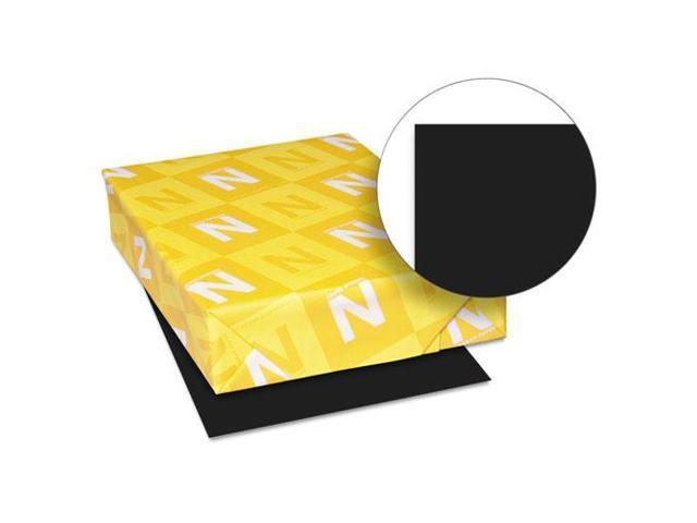 Astrobrights Colored Paper, 24Lb, 8-1/2 X 11, Eclipse Black, 500 Sheet