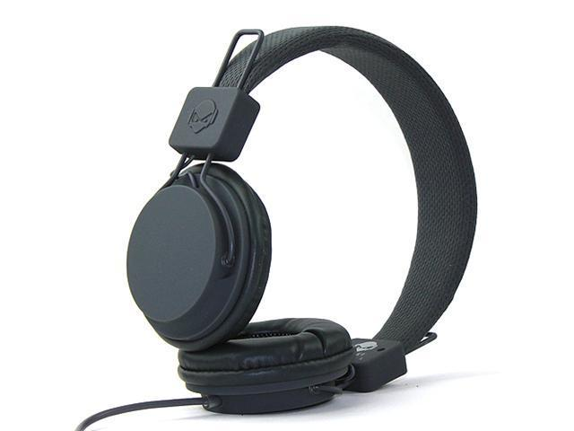 Subjekt TNT-QM1253 40mm Headphones with Mic - Gray