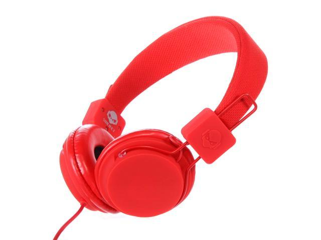 Subjekt TNT-QM1252 40mm Headphones with Mic - Red