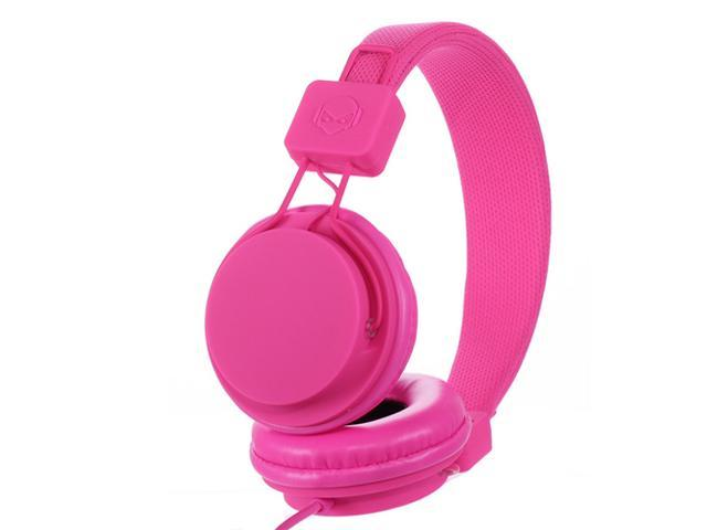 Subjket TNT-QM1258 40mm Headphones with Mic - Hot Pink