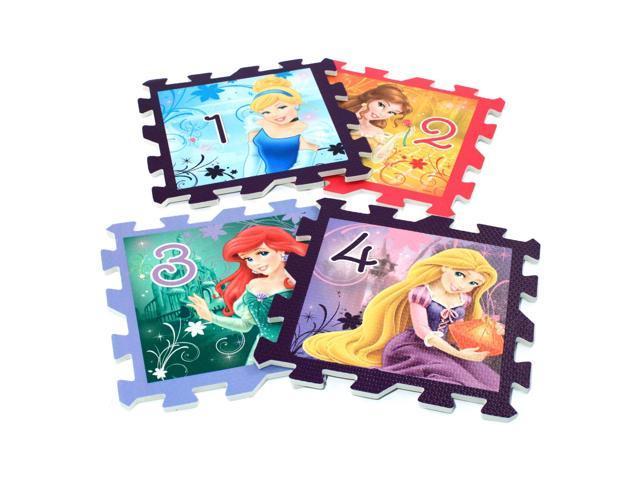 Disney Princesses Foam Jigsaw Hopscotch Puzzle 8pc