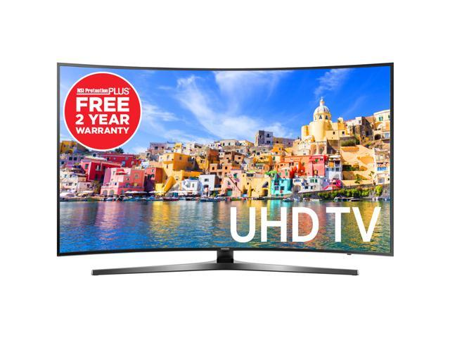 "Samsung 55"" Smart 4K Ultra HD Motion Rate 120 Curved LED UHDTV & Free 2 Year NSI Protection Plus Warranty"