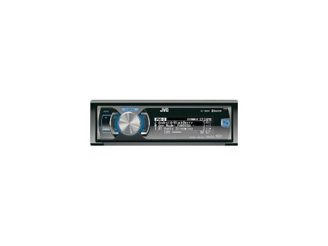 JVC CD receiver with AM/FM tuner