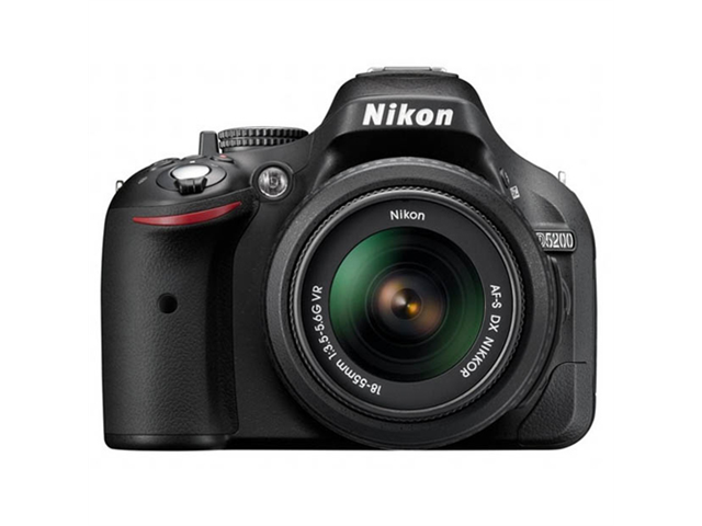 Nikon 24.0 MegaPixel SLR Digital Camera (Black)