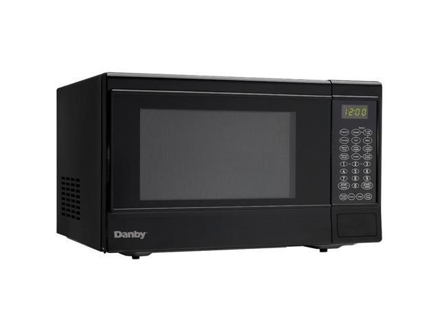 Danby 1.4 Cu. Ft. 1100 Watts Black Counter Top Microwave
