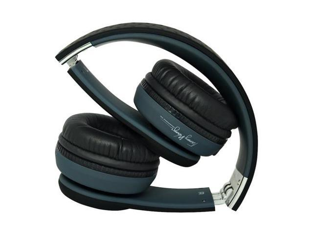 Fanny Wang 1000 Series On-Ear Headphones w/ Apple Integrated Remote and Mic - Black (FW-1003-BLK)