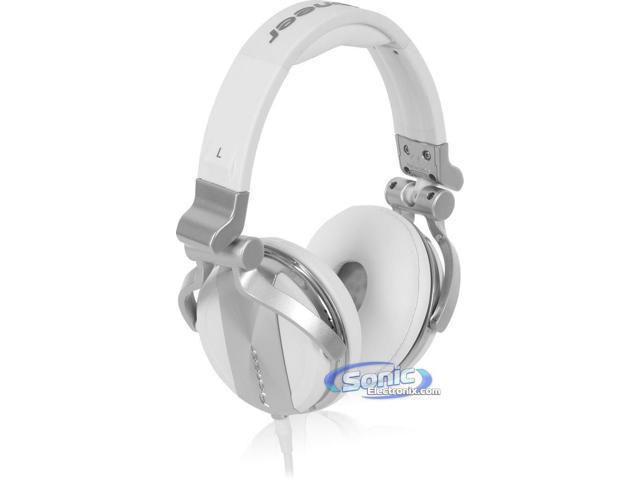 Pioneer HDJ-1500-W Professional DJ Style Headphones (White HDJ1500)