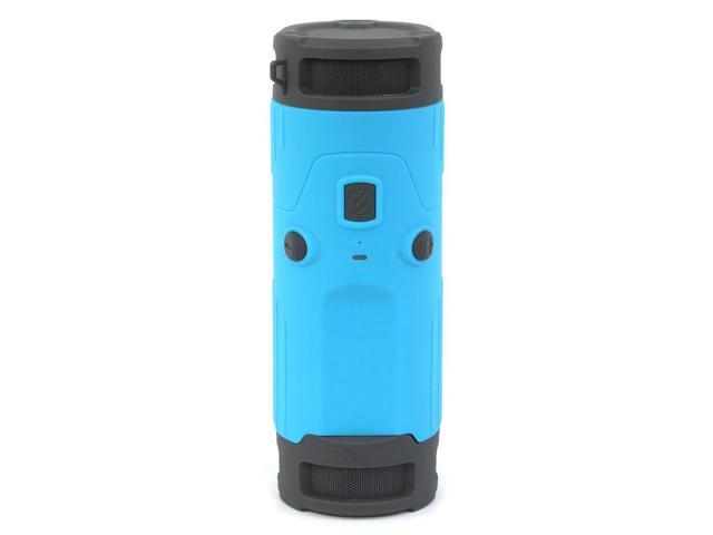 Scosche Boom Bottle Rugged Wireless Mobile Speaker - Blue