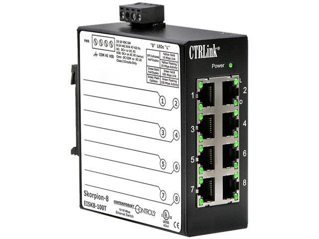 Industrial Ethernet Switch - 8 Port