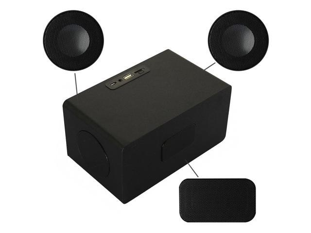 Dbpower 7300 Touch Panel Control Bluetooth Wireless Speaker with NFC Black