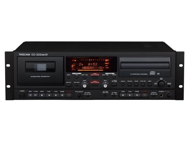 TASCAM CC-222mkIV Combination CD/Cassette Recorder
